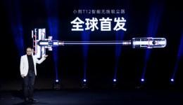 170AW超大吸力+双滚地刷 小狗推出年度旗舰智能无线吸尘器T12